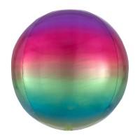 Ombré Folienballon bunt 40cm
