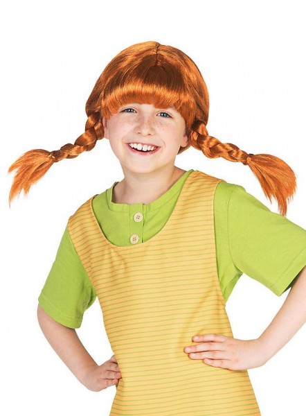 Perruque enfant Cheeky Pippi Longstocking