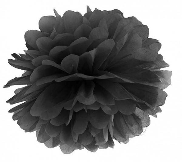 Pompon Romy black 35cm