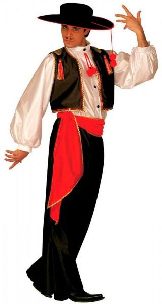 Flamencotänzer Francisco Kostüm