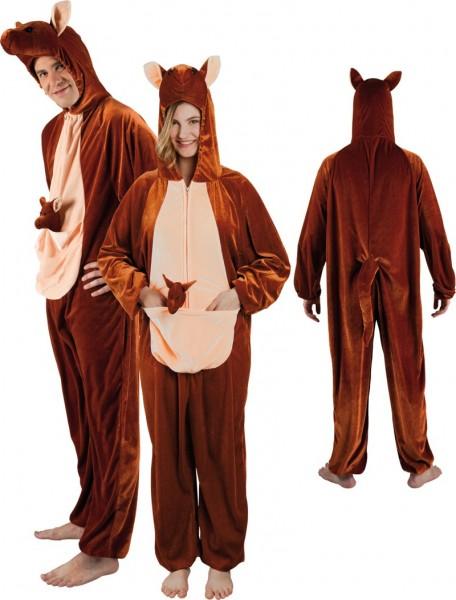 Kostium pluszowego kangura