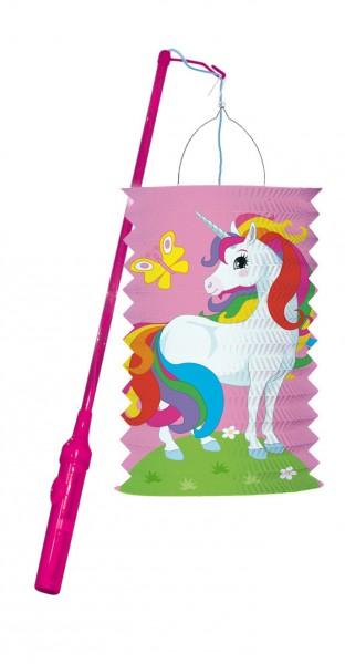Ensemble de lanternes en papier Licorne