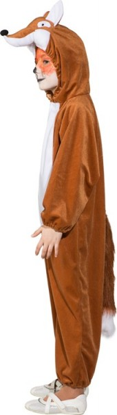 Brown Fox Overall Hooded