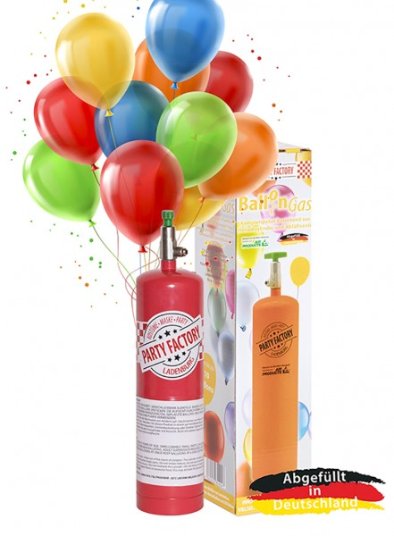 Bouteille d'hélium jetable pour un maximum de 6 ballons