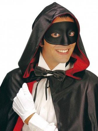 Masque pour les yeux noirs Bal masqué baroque