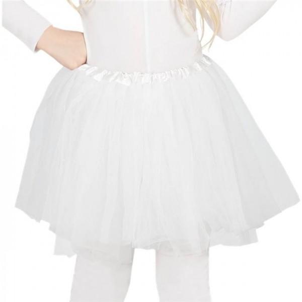White ballerina tutu for children