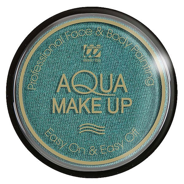 Aqua Make Up Grün-Metallic 15g