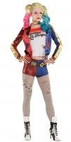 Harley Quinn Lizenz Kostüm für Damen