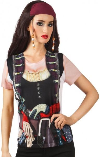 Camicia da sposa pirata