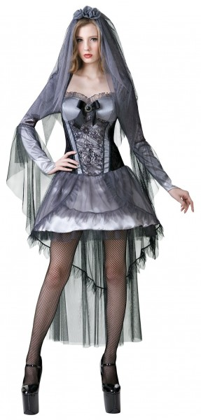 Seducente sposa fantasma costume da donna