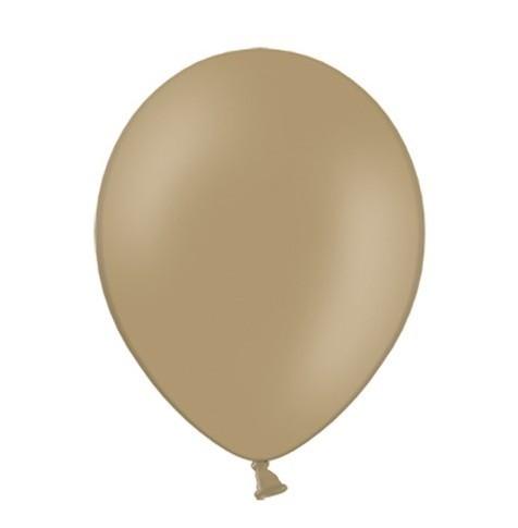 100 Ballons Pastell Cappuccino 23cm