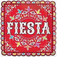 18 Spicy Fiesta Pappteller 23cm