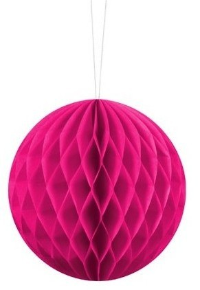 Honeycomb ball Lumina magenta 10cm