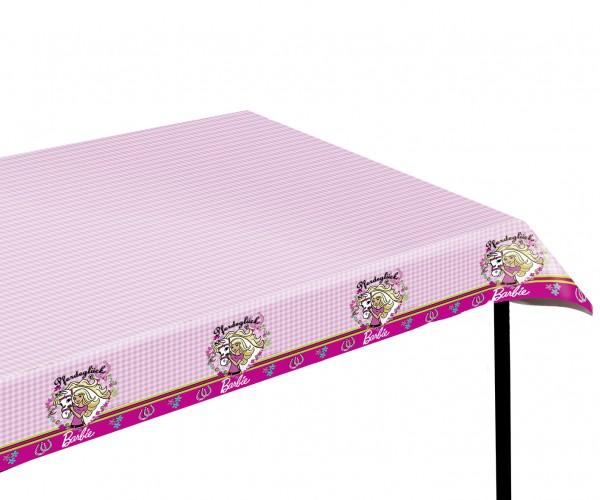 Barbie PartyTischdecke Kindergeburtstag 120x180cm