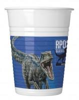 8 Jurassic World Becher blau 200ml