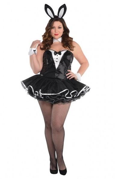 Czarny kostium Bunny Bea damski