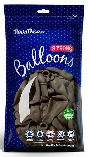 10 Partystar Luftballons cappuccino 27cm