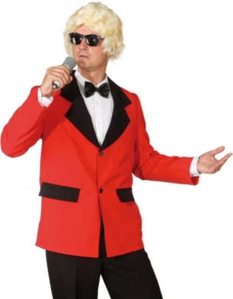 Rote Show Jacke Für Herren