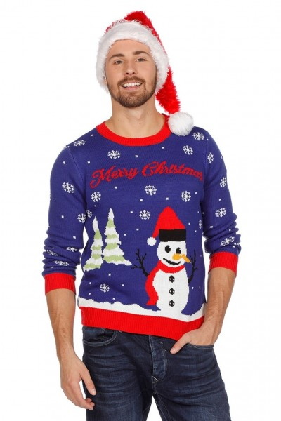 Maglione pupazzo di neve di Natale