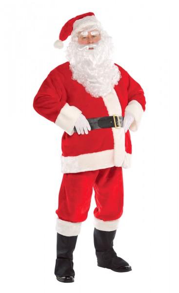 Disfraz de Papá Noel para hombre 7 piezas