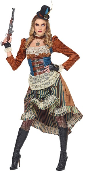 Genevieve Steampunk Kostüm für Damen