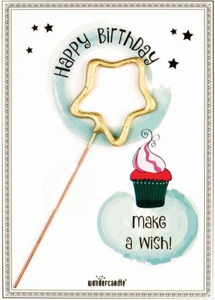 Birthday Wondercard Esprimi un desiderio