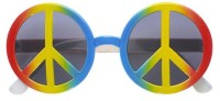 Love And Peace Sonnenbrille Unisex