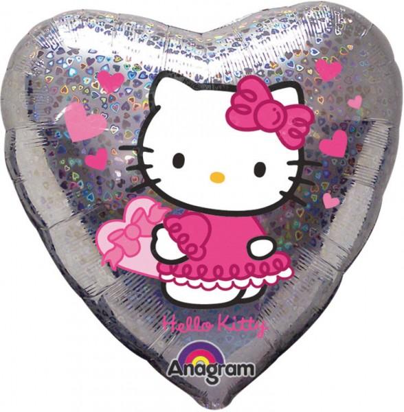 Heart Balloon Charming Hello Kitty