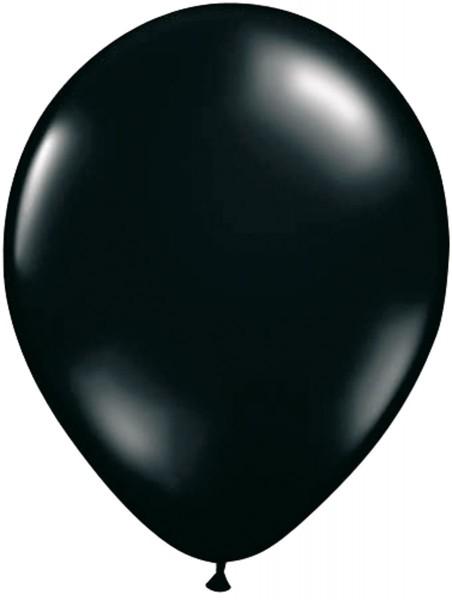 10 Ballons Classic schwarz 30cm