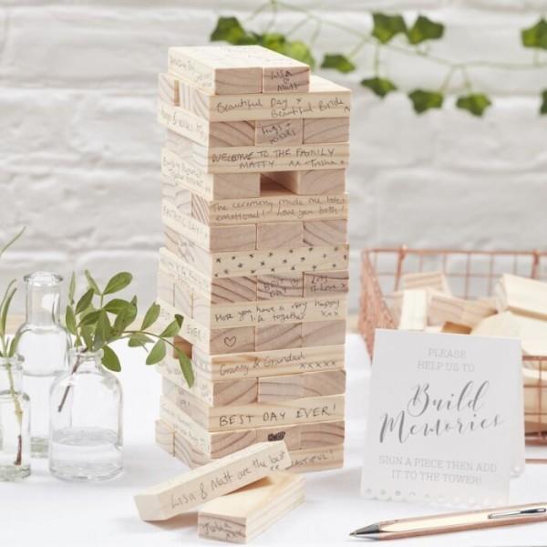 Märchenhochzeit Turm Gästebuch