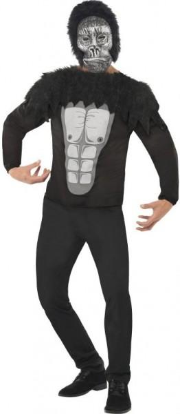 Gorilla kostuum set voor mannen