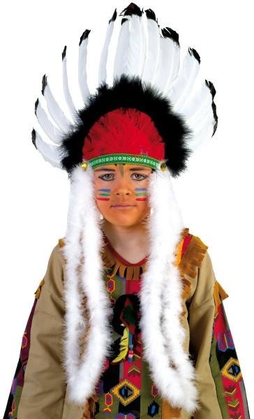 Indianer Federkopfschmuck