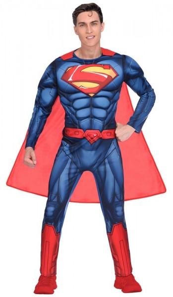 Classic Superman Lizenz Herrenkostüm