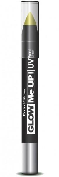 Gelber UV Neon Schminkstift
