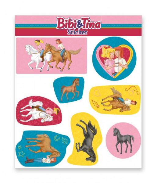 Bibi und Tina Sticker Bogen