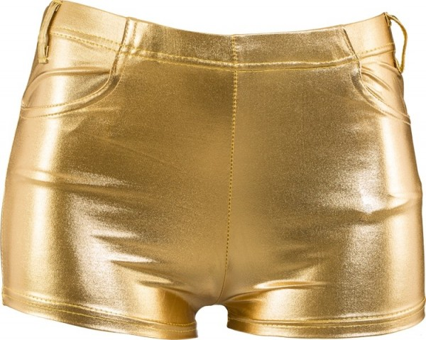 Glamour Gold Hotpants