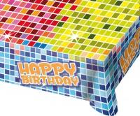 Groovy Happy Birthday Tischdecke 1,3m x 80cm