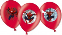 6 Spiderman In Action Luftballons 27,5cm