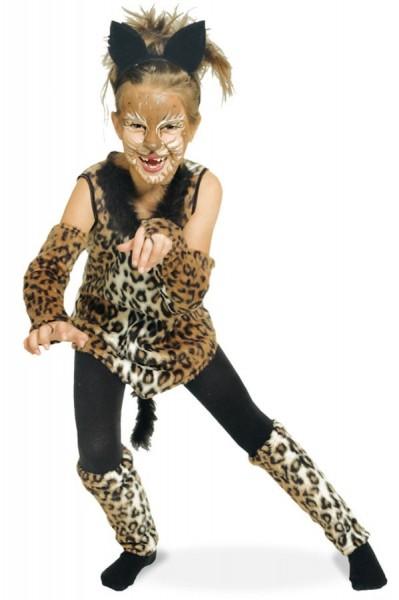 Mehrteiliges Leopardenkostüm Für Kinder