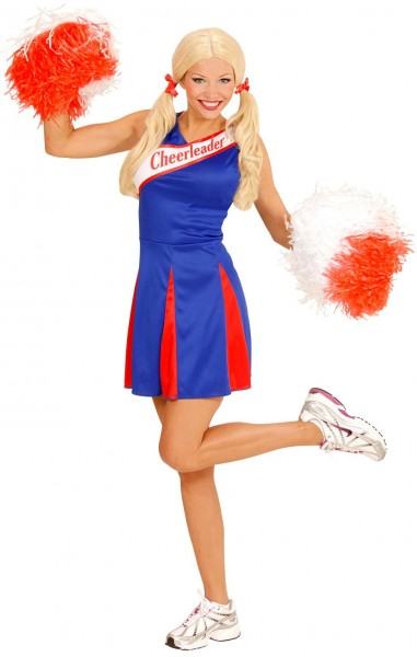 Cheerleader Nancy Damenkostüm