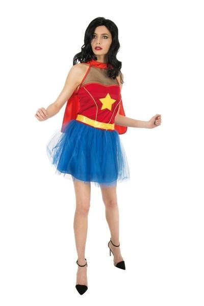 Sexy Supergirl Damenkostüm