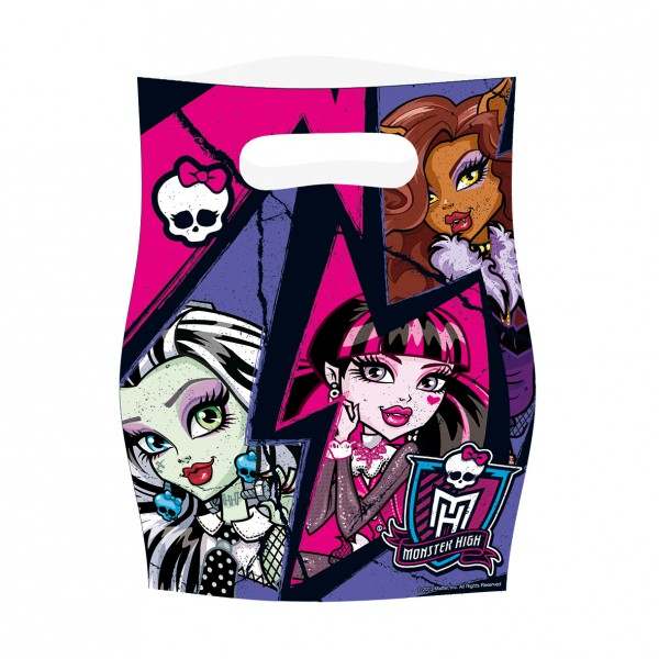 Sac cadeau Monster High Girls 16.5cmx23cm