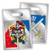 8 Geschenktüten Ritter Wappen