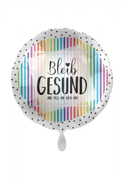 Bleib gesund Folienballon 43cm