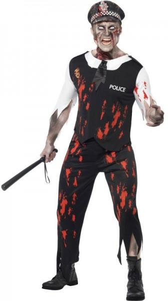 Poliziotto zombie folle