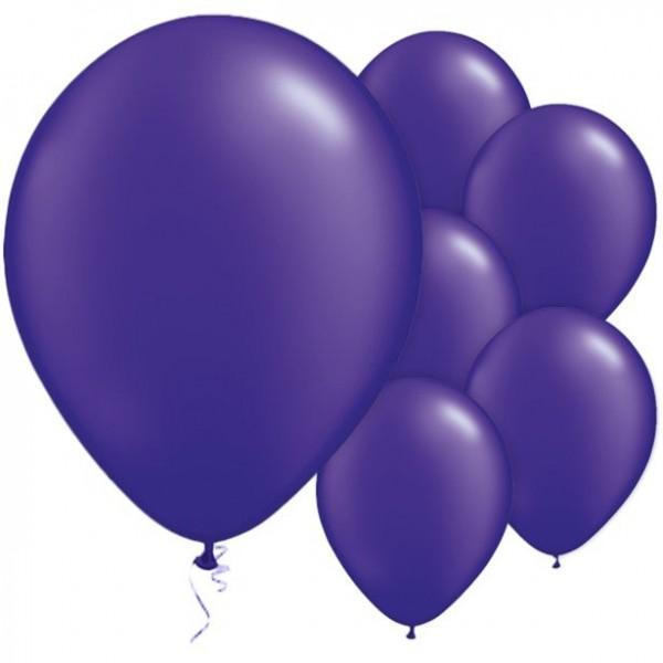 25 Latexballons violett 28cm