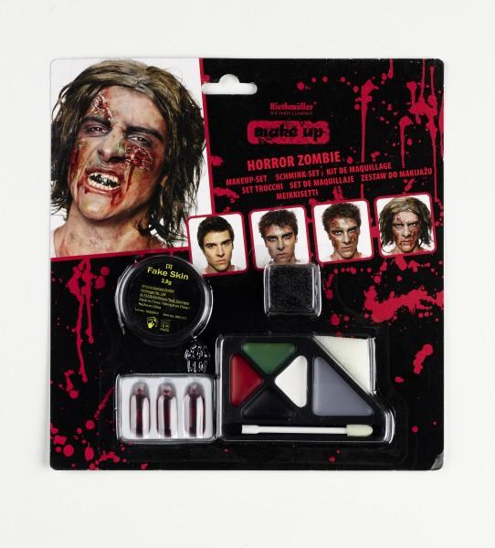 Halloween Horror Zombie Make Up