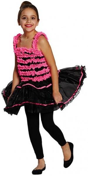 Prima Ballerina Tutukleid Pink-Schwarz