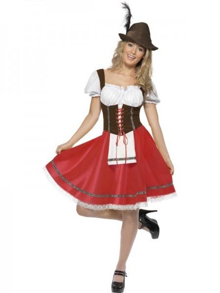 Sexy Alpen Kostüm für Damen