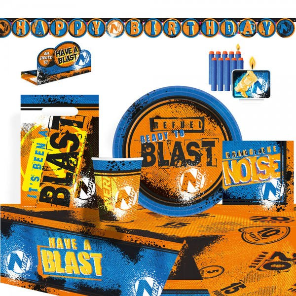 Party Set Nerf Have a Blast 61-teilig